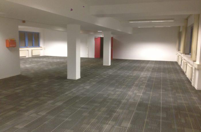 2500qm Teppichfliesen Bürogebäude Magdeburg